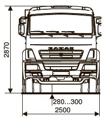 Шасси KАМАZ - 65115-А4