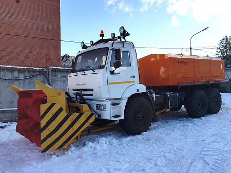 Снегоочиститель шнекороторный двухмоторный СШР-1